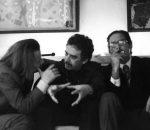 Regis Debray, Gabriel García Márquez y Carlos Fuentes