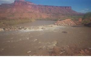 Río Dolores, afluente del Colorado