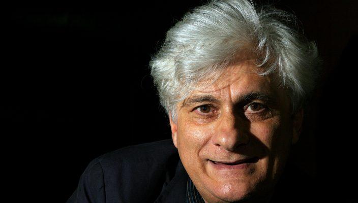 """20BIFO-----------17 de Mayo de 2008------Foto de Ramón Romero-----------Cultura----------Imagen Digital--------Entesvista con Franco Beradi """"Bifo""""en el Centro Cultural Tlatelolco."""