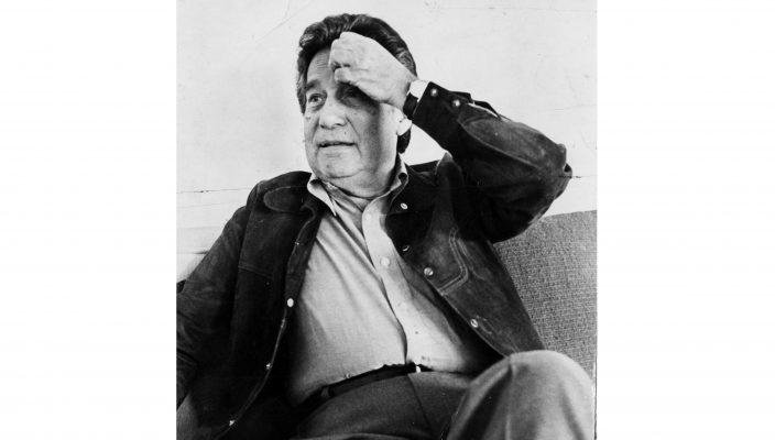 El poeta Octavio Paz. Foto de El Universal.