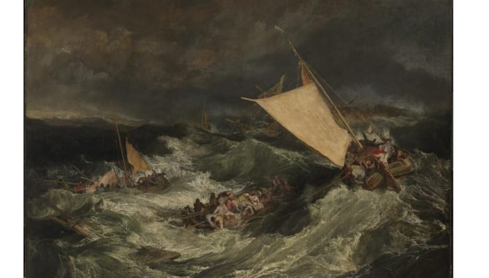 The Shipwreck exhibited 1805 Joseph Mallord William Turner 1775-1851 Accepted by the nation as part of the Turner Bequest 1856 http://www.tate.org.uk/art/work/N00476