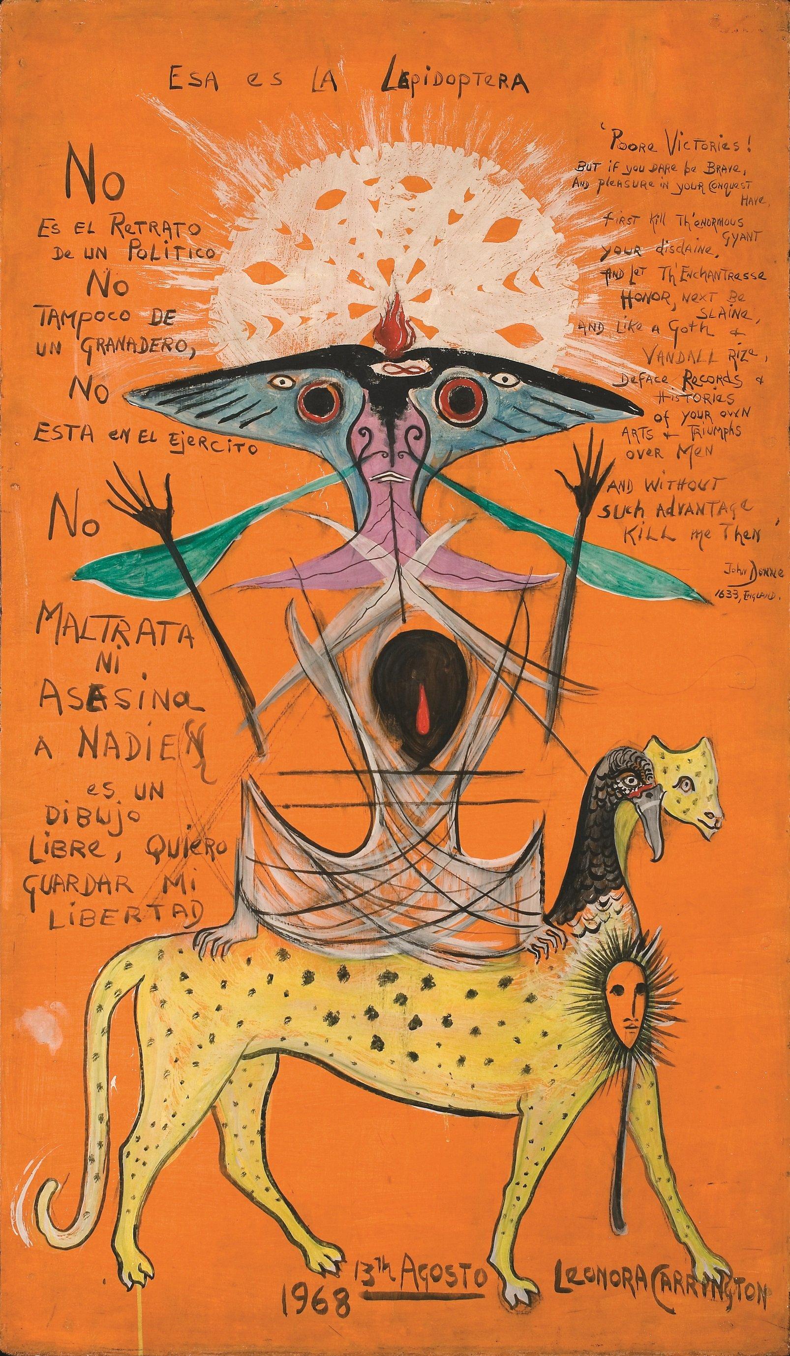 Leonora Carrington: recordando a la hechicera irónica ...