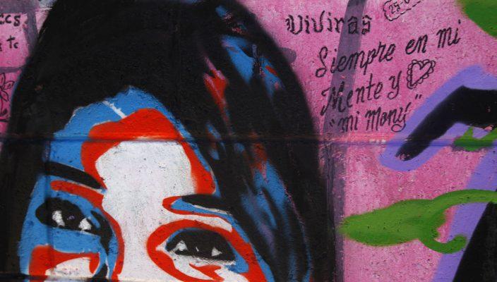 YX20JULIO2015 CD JUAREZ CHIHUAHUA IMAGENES DE LOS DIVERSOS MURALES QUE SE PUEDEN ENCONTRAR EN LAS CALLES DE CIUDAD JUAREZ QUE TRATAN SOBRE LAS MUJERES DESAPARECIDAS Y ASESINADAS EN LA CIUDAD, UN TEMA QUE SE CONVIURTIO EN UNA OLA DE FEMINICIDIOS EN EL ESTA CIUDAD FRONTERIZA.  YADIN XOLALPA EL UNIVERSAL.